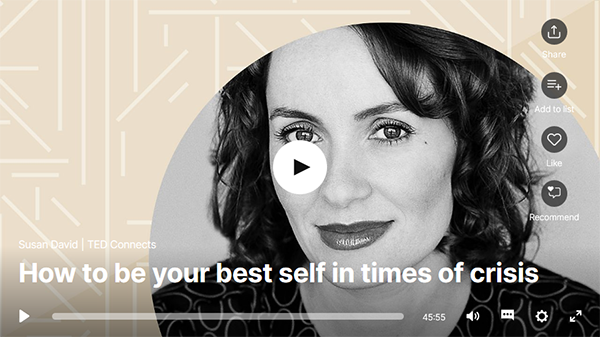 How to be your best self in times of crisis